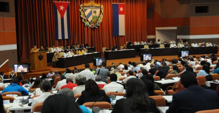Clausura de la Asamblea Nacional del Poder Popular.