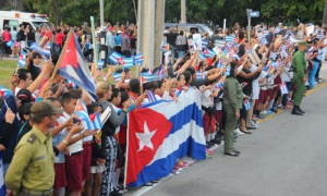 Fidel cruzó victorioso el territorio tunero