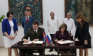 Cuba y Rusia firman acuerdo en materia jurídica