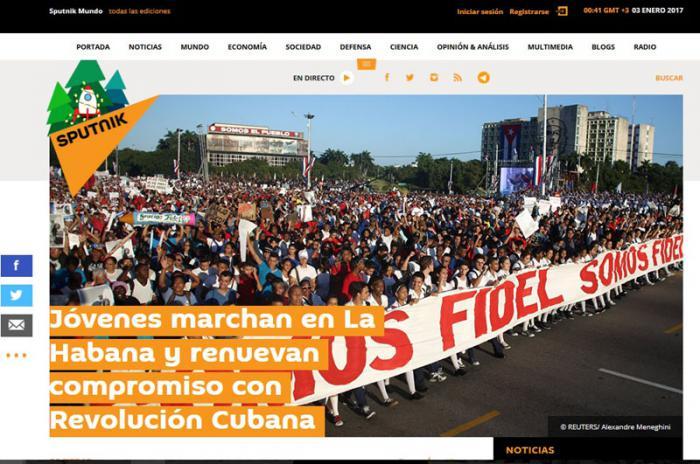 El mundo destaca muestra de unidad del pueblo cubano