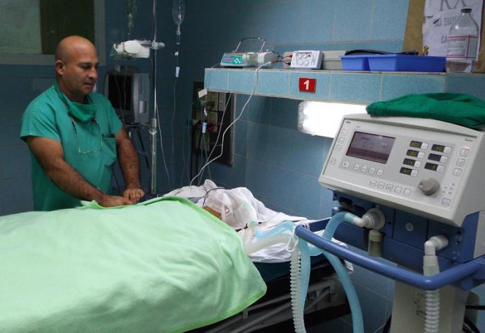 Nueva sala de terapia intensiva del Hospital Amalia Simoni.