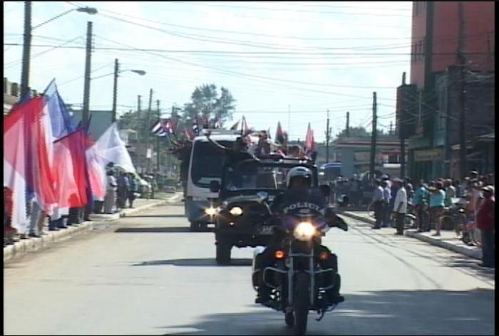 Caravana de la libertad en Matanzas Foto: Granma