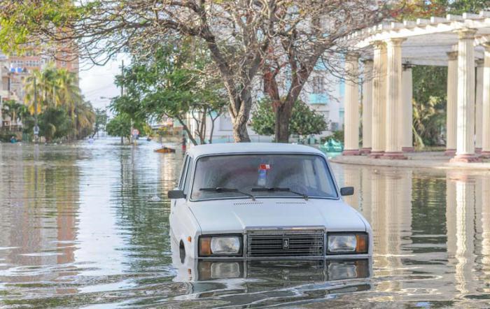 Vaticinan inundaciones costeras en el litoral sur de la región occidental
