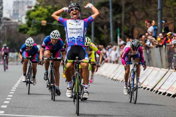 Ciclista cubana Marlies Mejías es la ganadora absoluta de Tour de Uruguay.