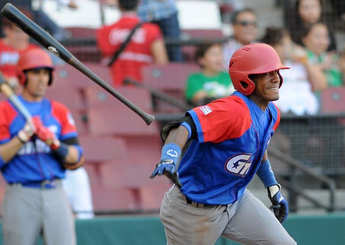 Beisbol-Serie del Caribe-Culiacan primer juego Cuba vs RD Roel Santos