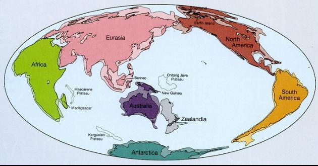 Se determinó que hay un nuevo continente, el cual está unido por la misma corteza continental a lo largo de 4.9 millones de kilómetros cuadrados. Su nombre es Zealandia.