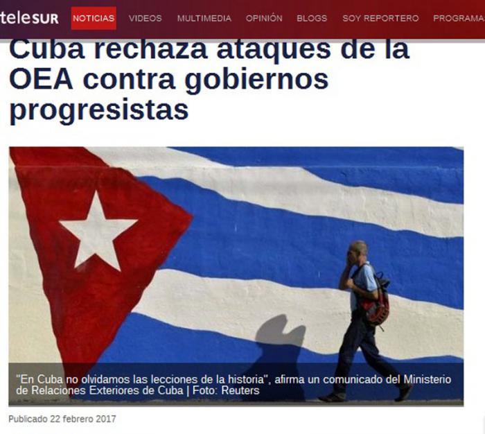 Telesur Cuba