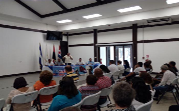 encuentro de cubanos residentes en nicaragua