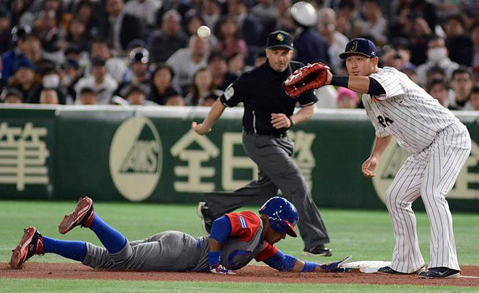 Cuba lose to Japan in first game of World Baseball Classic