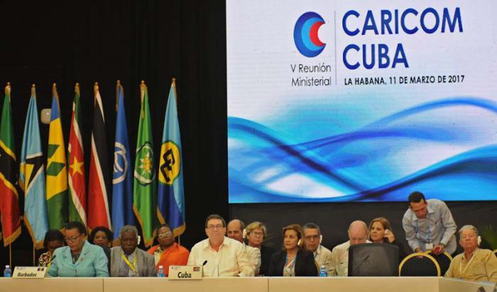 Concluyó V Reunión Ministerial Caricom-Cuba con llamado a la integración
