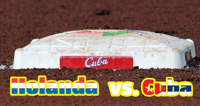 Holanda vs. Cuba en el CM2017, jugada a jugada