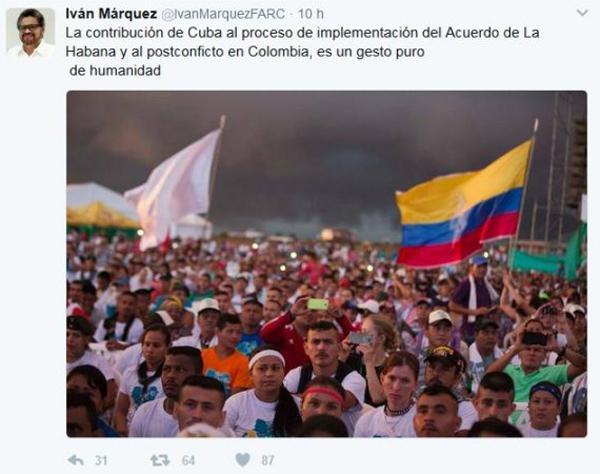 Cuba ofrece mil becas de medicina a proceso de paz en Colombia