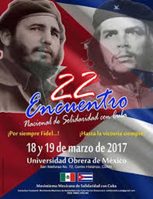 Movimiento mexicano de solidaridad reconoce aportes de Cuba