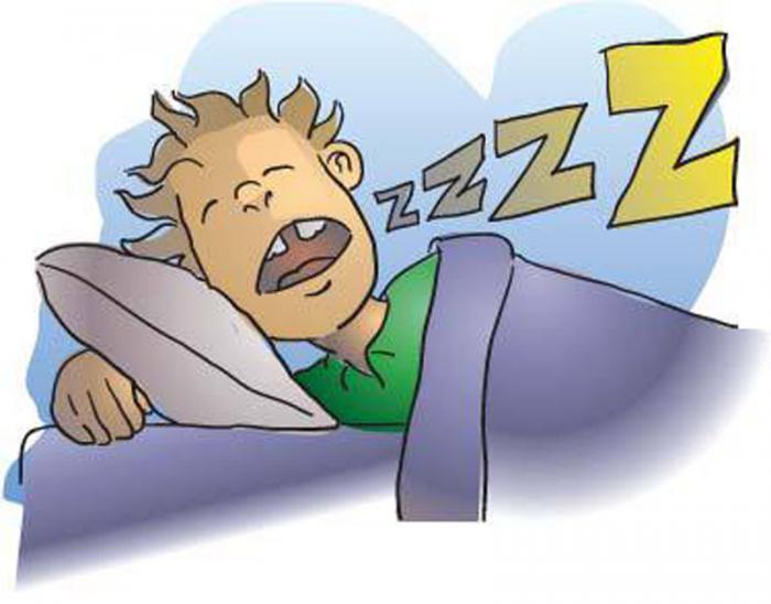 caricatura trastornos del sueño