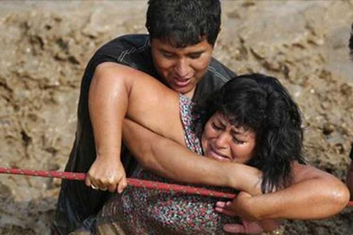 Fuertes inundaciones continúan afectando la Amazonía peruana