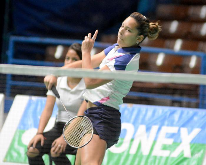 Avanza badmintonista cubana a la final del Torneo Internacional de Guatemala