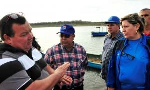 La presa Zaza aporta el 18 % de las capturas de agua dulce del país.