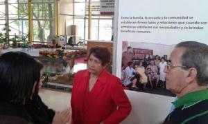 Inauguran pabellón de educación en expoCuba. Foto: Cortesía de ExpoCuba