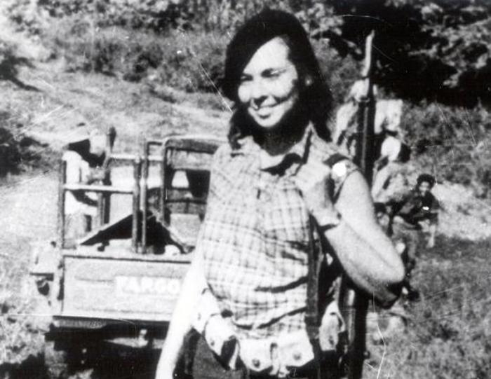 Vilma Espín en el Segundo Frente Oriental. Foto: cortesía del museo del segundo frente