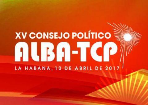 Consejo Político del ALBA-TCP se reunirá en Cuba