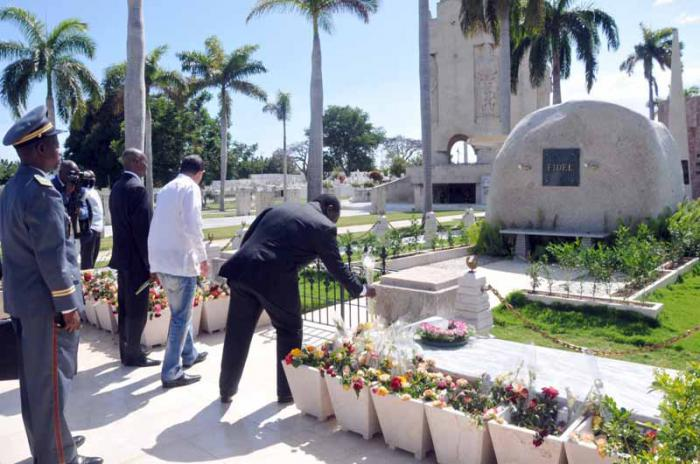 Prime Minister of the Congo pays tribute to Fidel Castro