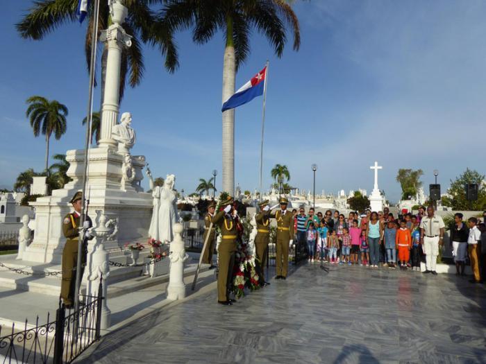 Homenaje a iniciador de gestas independentistas de Cuba en aniversario 198 de su natalicio