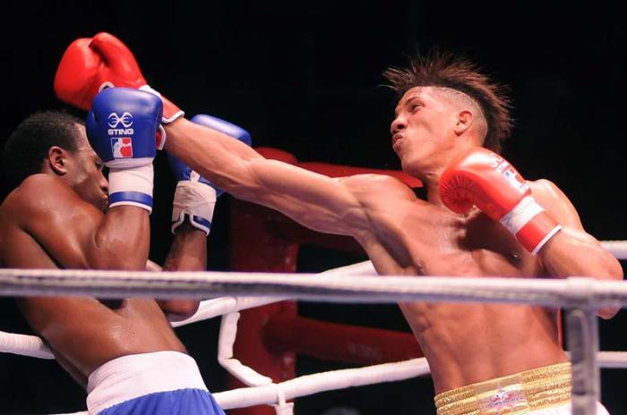 Box Serie Mundial VII 81 kilogramos Osvary Morell vs Juan Carrillo