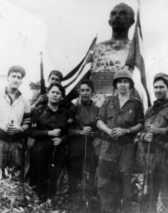 La primera mujer en el Ejército Rebelde
