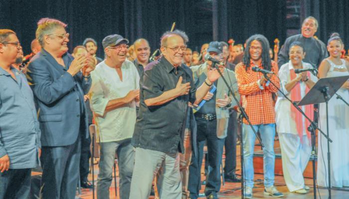 Gala inaugural de la XXI Feria Internacional Cubadisco 2017 en el Teatro Nacional de Cuba