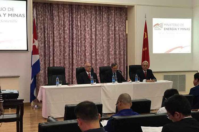 Cuba promueve en China oportunidades en la mineria