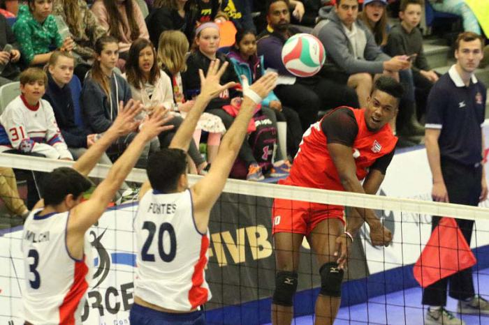 Cuba reaches semi-finals of U21 Men´s Pan-American Volleyball Cup