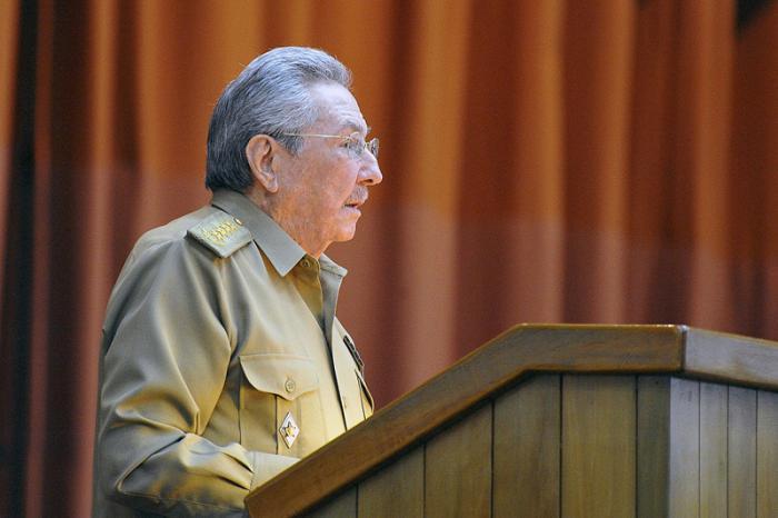 Raul Castro en la ANPP