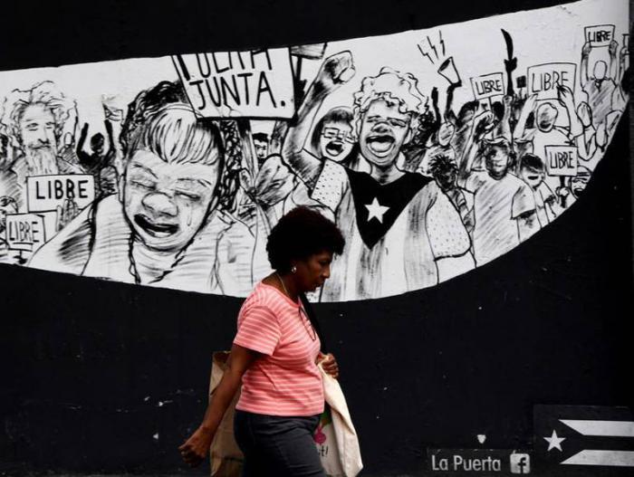 Los puertorriqueños están llamados el próximo 11 de junio a un referéndum no vinculante para pronunciarse sobre su relación con Estados Unidos. FOTO: AFP