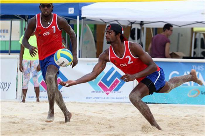 Cuba tendrá tres parejas en el próximo Campeonato Mundial de voli de playa.