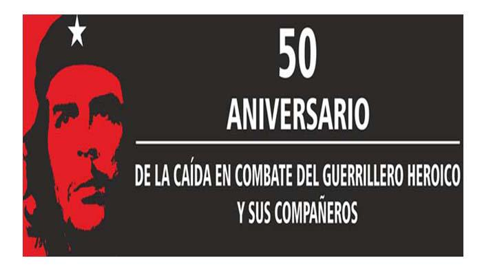 Ramiro Valdes Participates in Main Activity for the 50th Anniversary of the Fall in Combat of Che