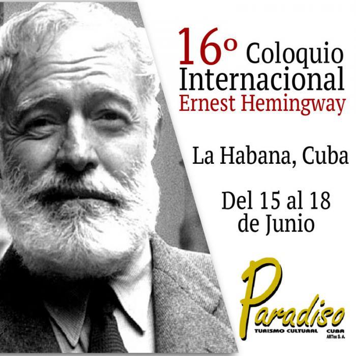 16 Coloquio Internacional Ernest Hemingway