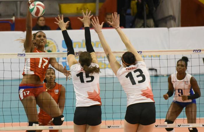 Cuba derrotó a Chile en Copa Panamericana de Voleibol