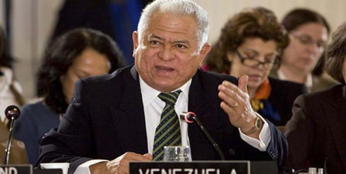 Jorge Valero , embajador venezolano ante la onu, ratificó la vocación del Gobierno bolivariano para consolidar la paz en el país y garantizar la protección de los Derechos Humanos. Foto AVN