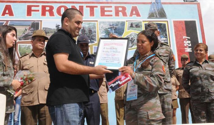 Eligen delegada directa de la Brigada de la Frontera al Festival Mundial de la Juventud y los Estudiantes