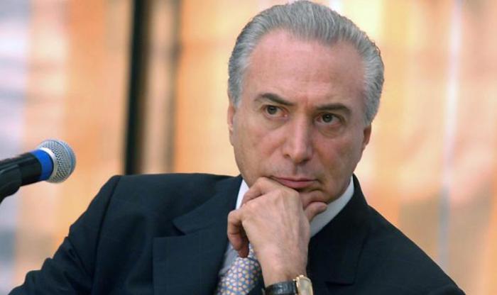 El presidente no electo es investigado por los supuestos delitos de corrupción pasiva, obstrucción a la justicia y asociación ilícita. Foto: Brasil de Fato