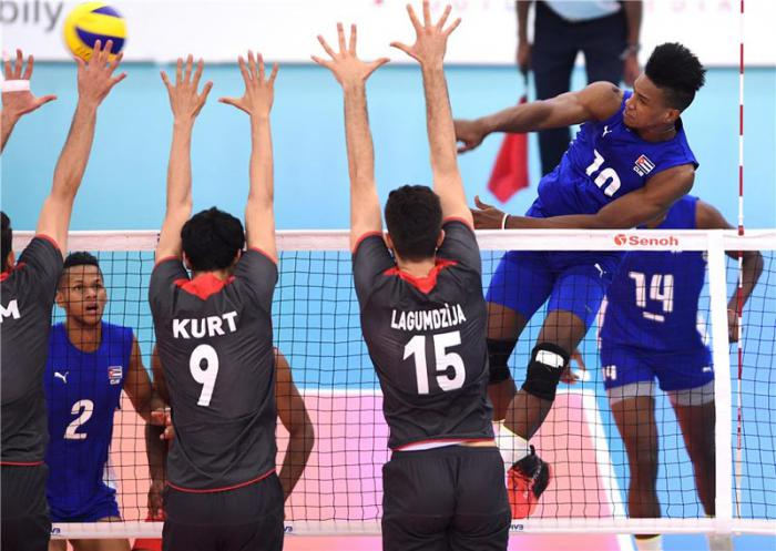 Cuba por boleto a cuartos de final en Mundial de Voleibol sub-21