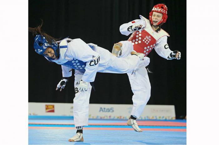 Yamicel Núñez cae en Mundial de Taekwondo