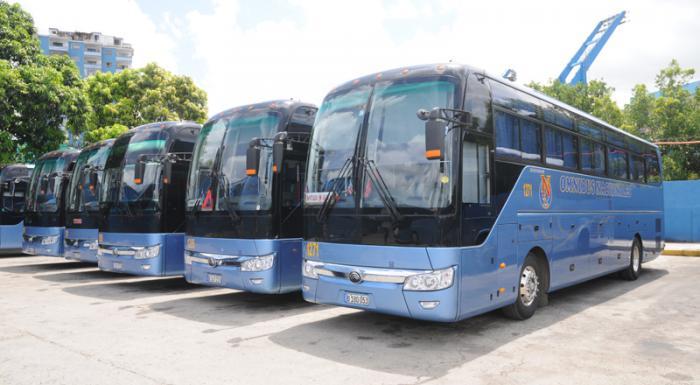 UEB de Omnibus Nacionales Augusto César Sandino ,omnibus nuevo