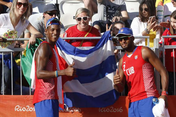 Cuban beach volley duo to debut in Gsteed, Switzerland