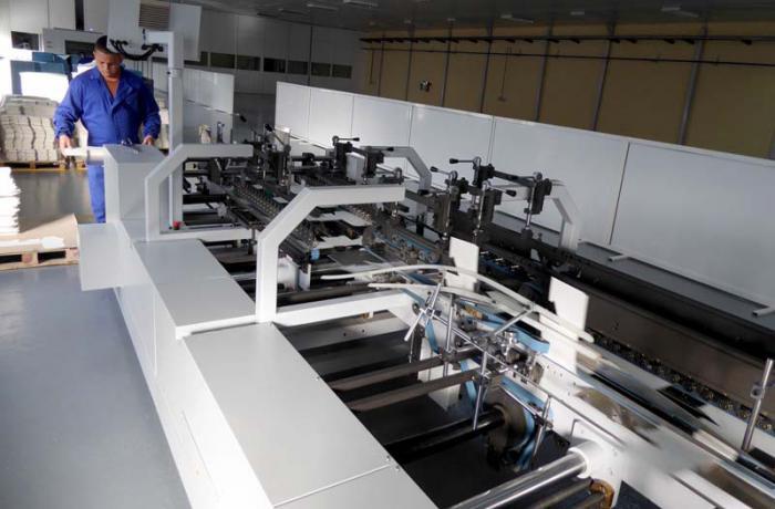 Con el equipamiento actual, la planta puede producir 60 millones de envases anuales para la industria farmacéutica.