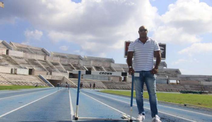 Anier García considera que los atletas cubanos necesitan participar en más eventos de nivel.  foto: Hansel Leyva