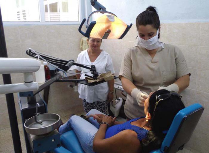 Policlínico Rosa Castellanos (La Bayamesa), una nueva institución al servicio de los pobladores de Najasa. Foto: del autor