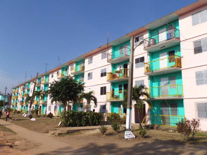 Fruto del esfuerzo constructivo se mejoran las edificaciones en la cabecera municipal y en las comunidades rurales. Foto: Miguel Febles Hernández