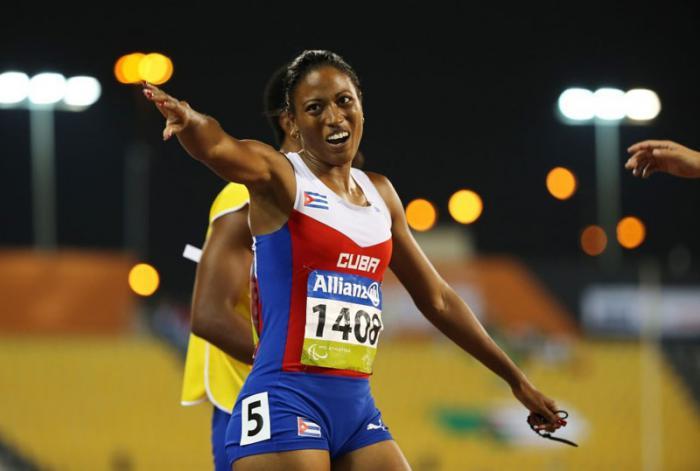 Durán se agenció la tercera medalla de oro para Cuba en la justa. foto: Getty images