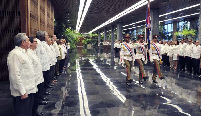 Presidió Raúl ceremonia de juramento de nuevos embajadores de Cuba